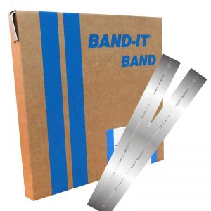 fleje de acero inoxidable BAND-IT® 1/2 30.5 metros cal. 20